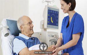 بخش مراقبت های ویژه خدمات پرستاری