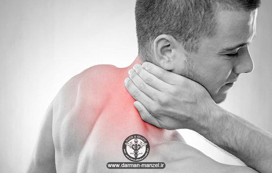 گرفتگی غضله و درد گردن